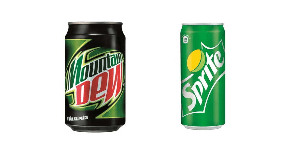 mountain dew vs sprite