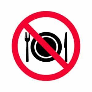 not be eaten