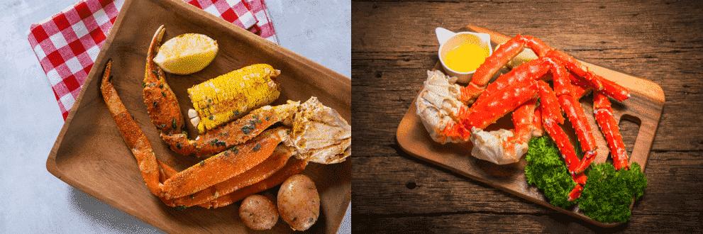 southern king crab vs alaskan king crab