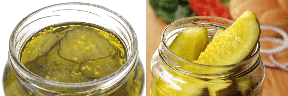 bread and butter vs dill pickles