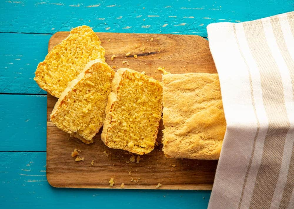 cornbread not cooked in middle