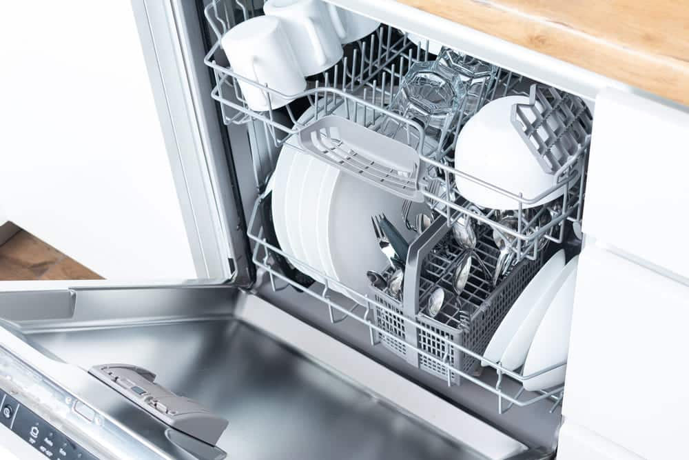 dishwasher arms not spinning