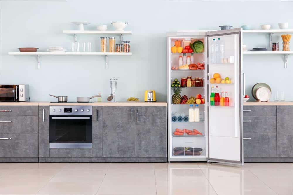 fridge door not closing automatically