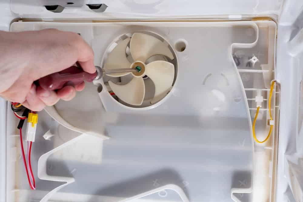 fridge fan not working