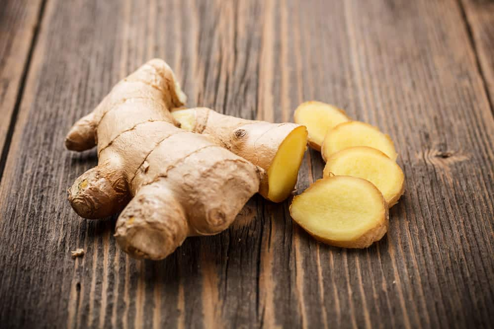how much is 1 inch of ginger