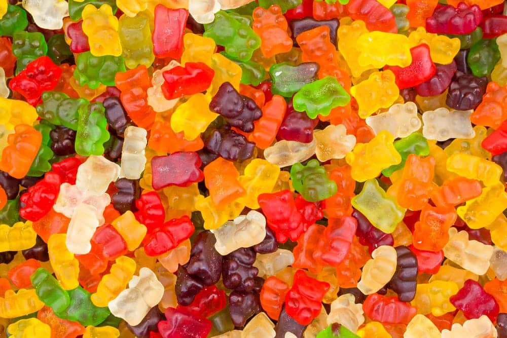 how to keep gummy bears from melting