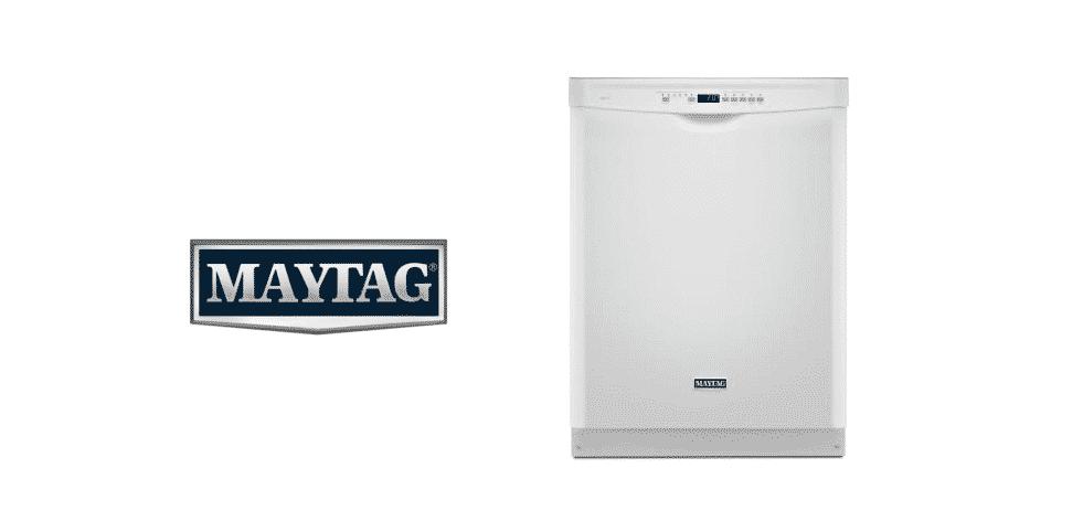 maytag dishwasher not draining