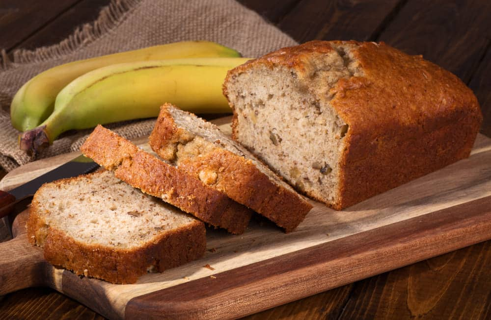 not enough bananas for banana bread