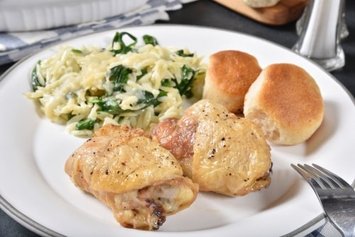 Enjoy your chicken thigh meal!