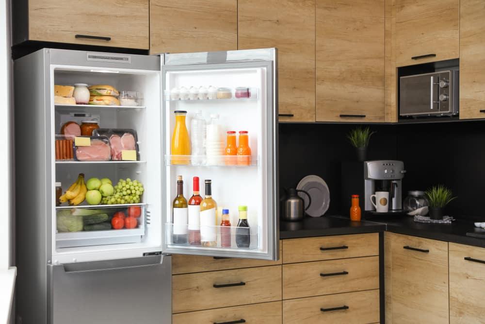 fridge compressor running but not cooling