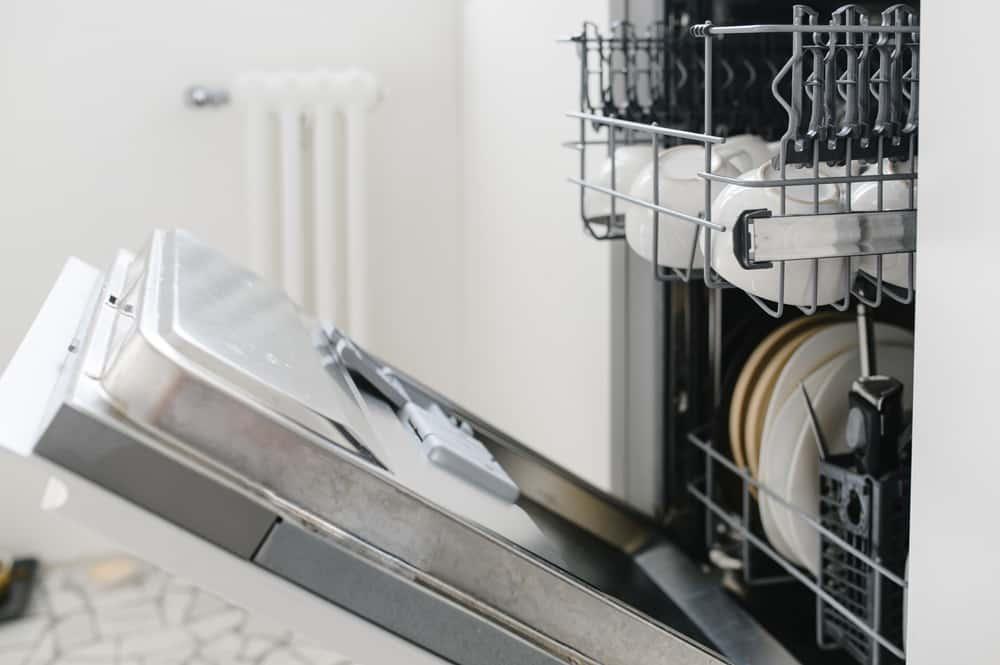 frigidaire dishwasher not drying