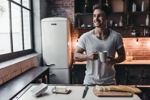 A working coffee machine makes your day better