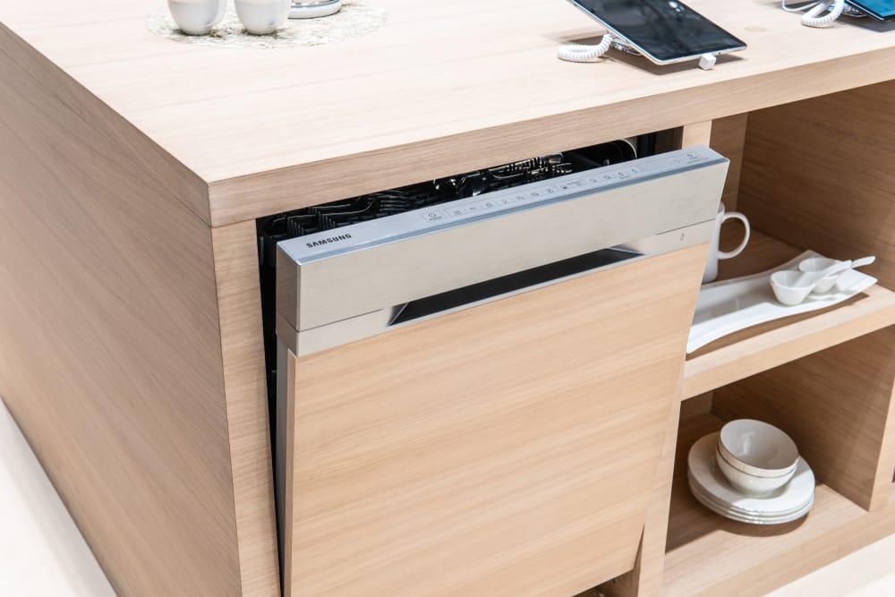 samsung dishwasher flashing smart auto and heavy