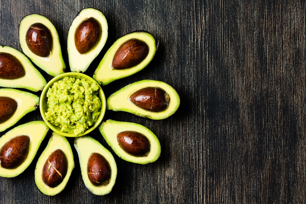 avocado turning red