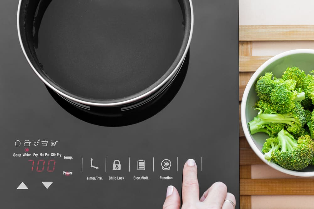 bosch induction cooktop error codes