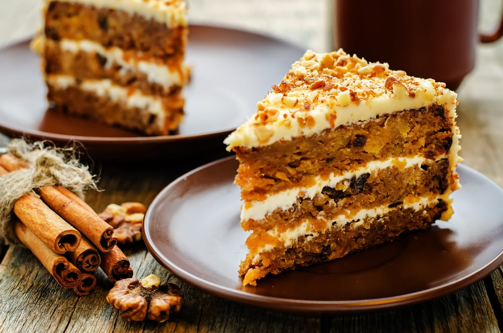 what ice cream goes with carrot cake