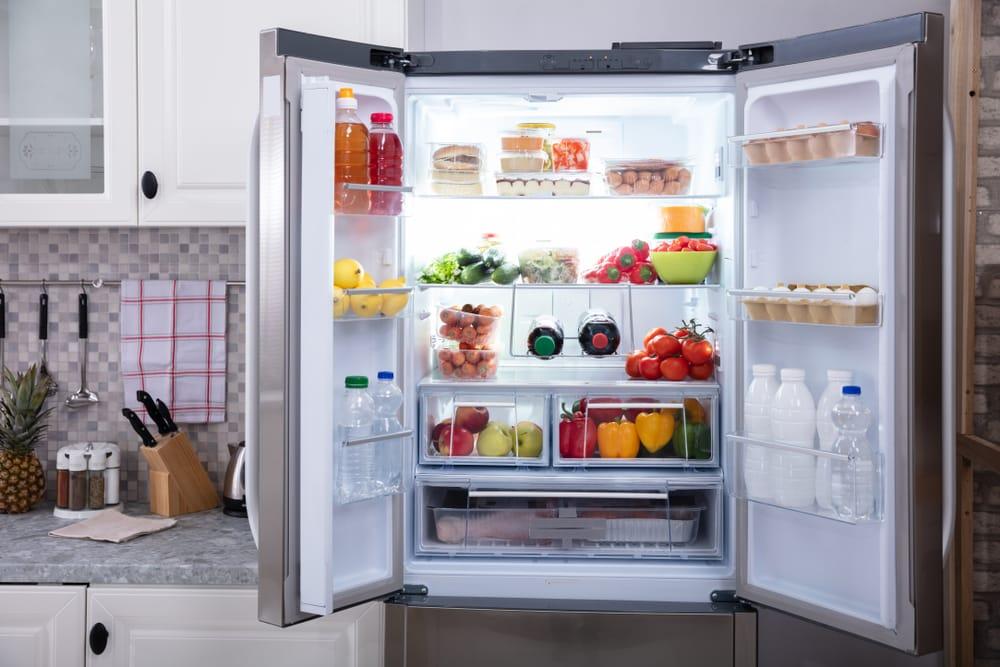 whirlpool refrigerator smells bad