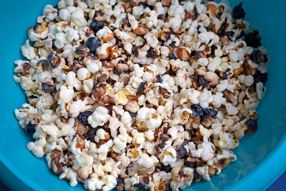 how long does burnt popcorn smell last