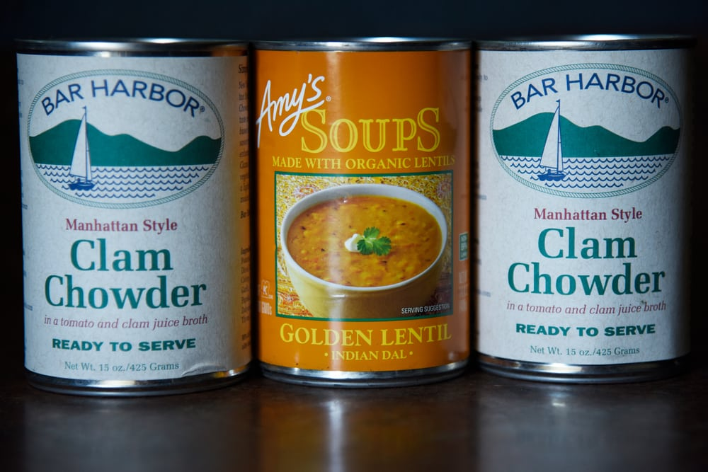 how to improve canned clam chowder