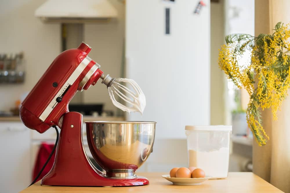 how to lubricate kitchenaid mixer