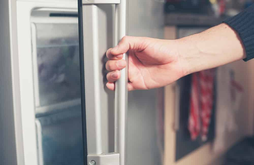 how to reset kenmore freezer after power outage
