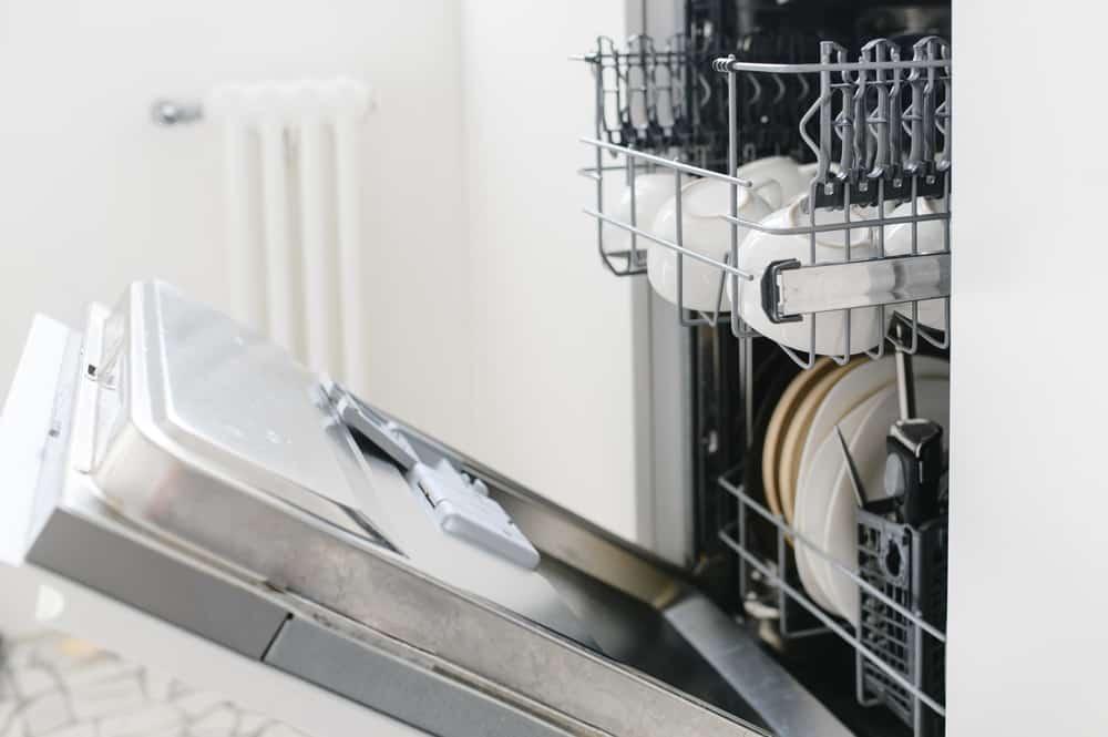 kenmore dishwasher model 665 cleaning filter
