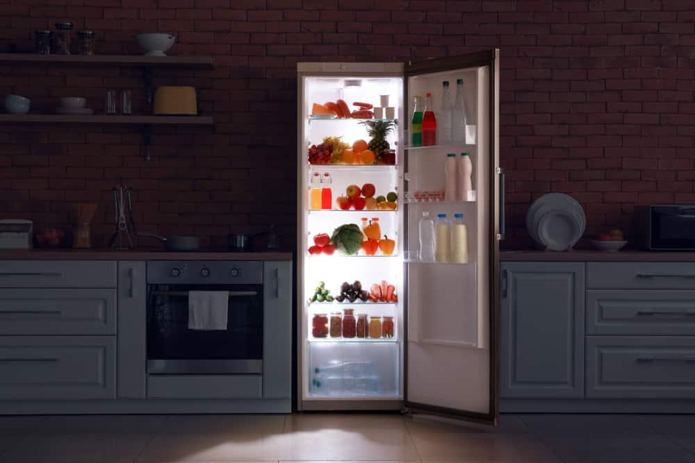 kenmore refrigerator led lights not working