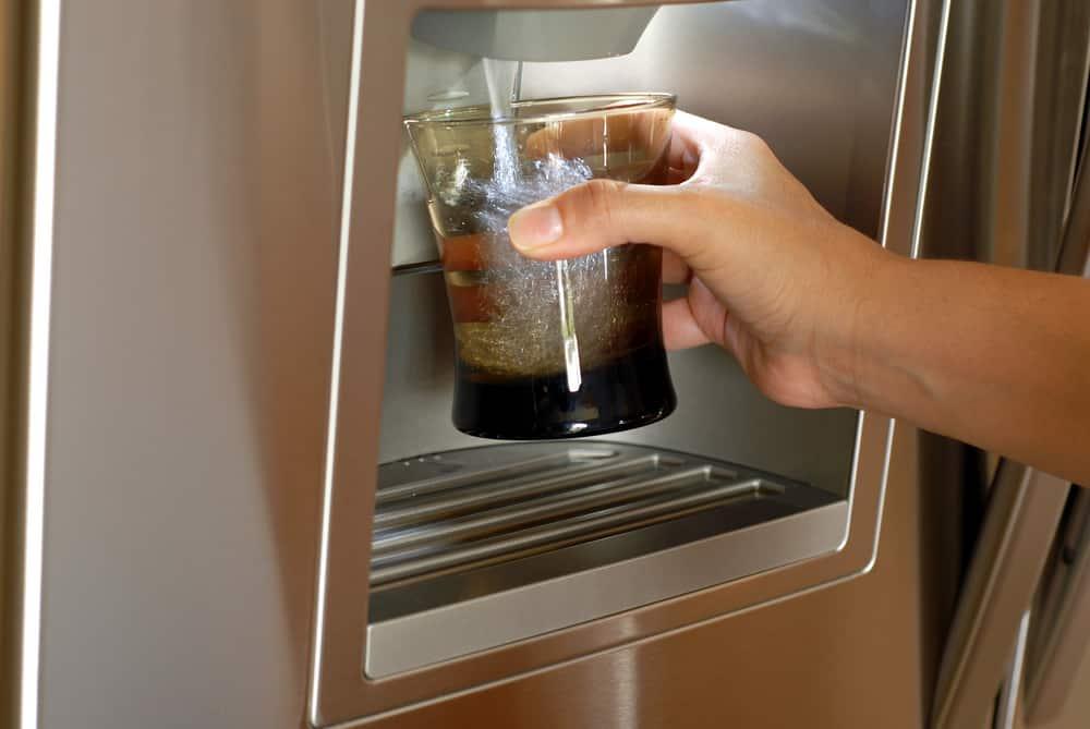 kenmore refrigerator water dispenser slow