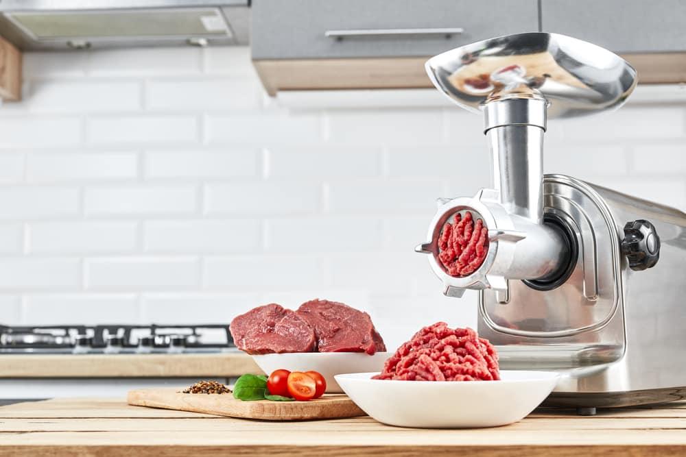 kitchenaid meat grinder metal shavings