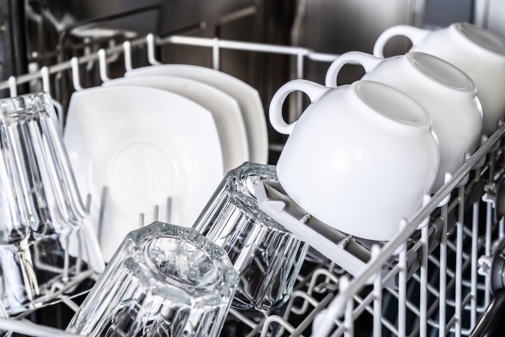 maytag dishwasher won't start lights flashing