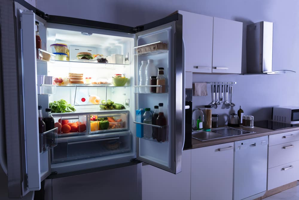 maytag refrigerator reset after power outage