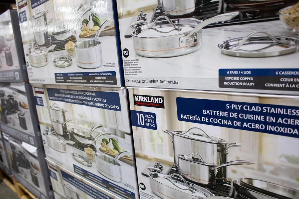 who makes kirkland cookware